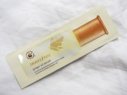Trying out a sample of Innisfree's Ginger Oil Serum