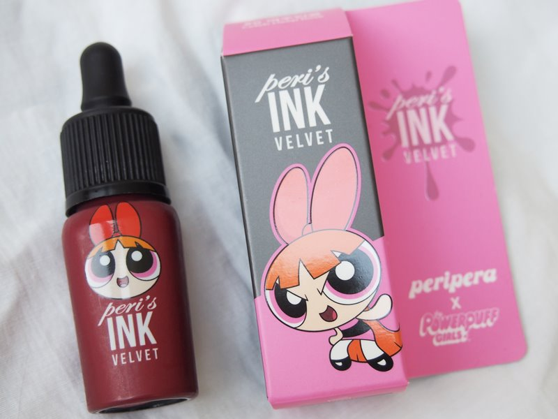 Peripera: Peri's Ink Velvet in #6 Celeb Deep Rose, Powerpuff Girls edition